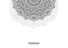 无缝图案复古装饰元素手绘背景_13017246