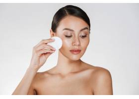 女性洁面隔离棉垫卸妆的护肤与保健_6514626