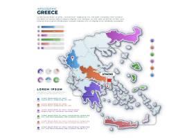 梯度希腊地图信息图_11711938
