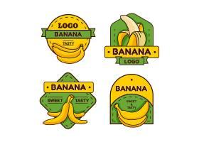 香蕉徽标收藏_10559068