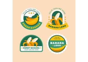 香蕉徽标收藏_10877738