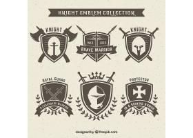 骑士徽章设计套装_1359103