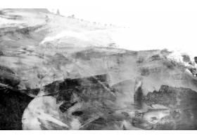 黑白亚克力画笔笔触纹理背景矢量_4122307