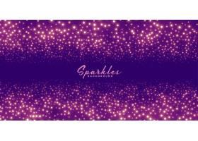 节日庆祝主题的紫色闪闪发光的背景_9874994