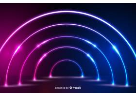 霓虹灯舞台背景设计_5777447