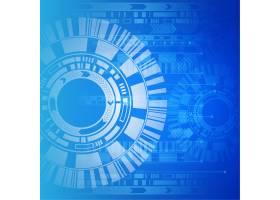 蓝白相间的技术背景_1175084