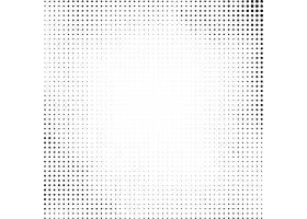 白色背景上的黑色半色调设计_6964060