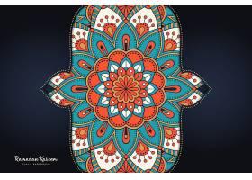 装饰美丽背景的几何圆元素_12920672