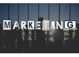 营销战略商业商务解决方案概念_13461274