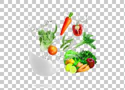 叶蔬菜烤宽面条水果食品,动态波碗新鲜蔬菜PNG剪贴画天然食品,汤,图片