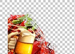 啤酒水彩绘画食物,啤酒美食背景PNG clipart水彩绘画,食品,食谱,图片