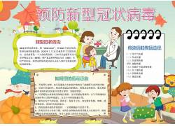 新冠肺炎Word小报模板 (52)