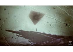 动漫,雨,抽象,艺术品,三角形,Kuldar Leement68351图片