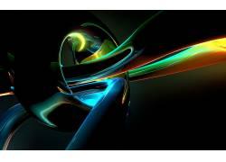 抽象,CGI,形状,华美,给予,数字艺术104560
