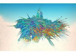 抽象,Matei Apostolescu,华美,飞机,超现实主义,艺术品134315
