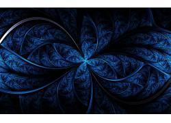 抽象,分形,蓝色,数字艺术40272