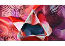 三角形,抽象,线,华美,几何,数字艺术,形状393839