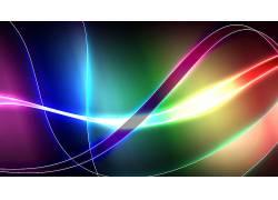 抽象,形状,线,数字艺术,华美,波形71443