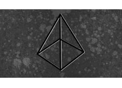 抽象,光学错觉,几何,单色,极简主义,数字艺术289772