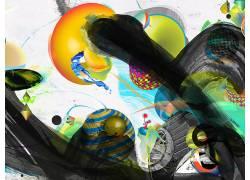 抽象,数字艺术,超现实主义28562