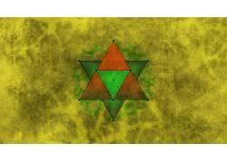 抽象,几何,神圣的几何,垃圾620217