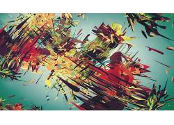分形,抽象,数字艺术,华美,形状,超现实主义13549