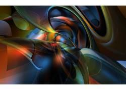 抽象,数字艺术,华美,给予,形状72067