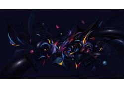 抽象,数字艺术,华美53025