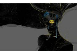 抽象,超现实主义,幻想艺术,妇女,艺术品,数字艺术688566