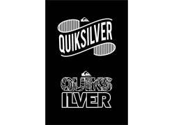 黑色背景,抽象,数字艺术,Quiksilver的,牌,商标,白色,肖像显示662