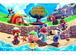 保护动物,动物踏过新叶,新叶子,动物,任天堂3DS,季节,视频游戏人