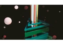 电影院4D,数字艺术,CGI,给予,抽象19523