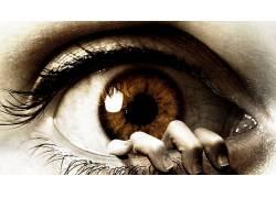 眼睛,电影海报,眼睛(电影),恐怖109424