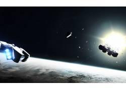 科幻小说,艺术品,星际(电影)243446