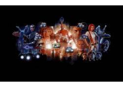 第五元素,电影,布鲁斯・威利斯,加里奥德曼,科幻小说,粉丝艺术,米