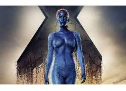 X战警,奥秘,珍妮弗・劳伦斯,X战警:逆转未来,黄眼睛,superheroin