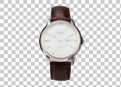 表带皮革计时码表天梭,天梭手表系列海星汽车III PNG剪贴画电子产