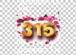 315花瓣金属字