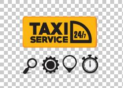 纽约市出租车黄色出租车例证,出租汽车元素PNG clipart文本,徽标,