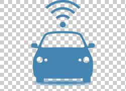 汽车Telematics计算机图标,汽车PNG剪贴画紧凑型汽车,蓝色,白色,