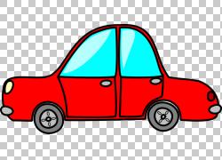 汽车,红色汽车的PNG剪贴画紧凑型汽车,警察,汽车,运输方式,卡通,