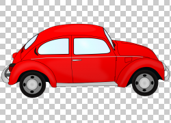 汽车大众甲壳虫,汽车的PNG剪贴画紧凑型轿车,老式汽车,汽车,颜色,