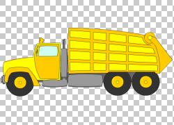 垃圾车废物,卫生卡车的PNG剪贴画卡车,回收,汽车,运输方式,车辆,