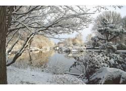 105006,地球,冬天的,壁纸图片
