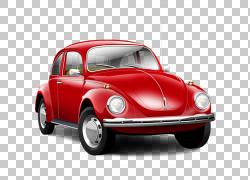 跑车大众甲壳虫图标,红色老大众甲壳虫车,红色大众甲壳虫轿跑车插