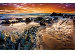 115745,地球,海滩,壁纸图片
