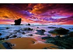 115750,地球,海滩,壁纸图片