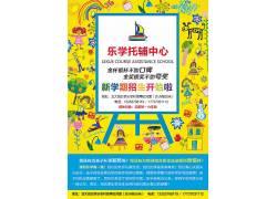 黄色培训教育海报模板