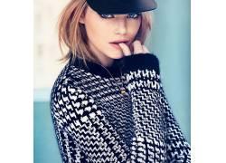 人,艾玛斯通,美女,金发,蓝眼睛,演员,项链,帽子29213