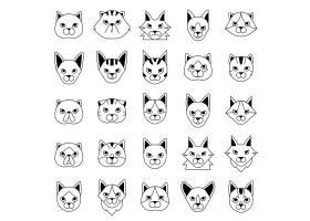 矢量卡通动物设计
